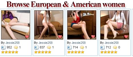 European women vs American women